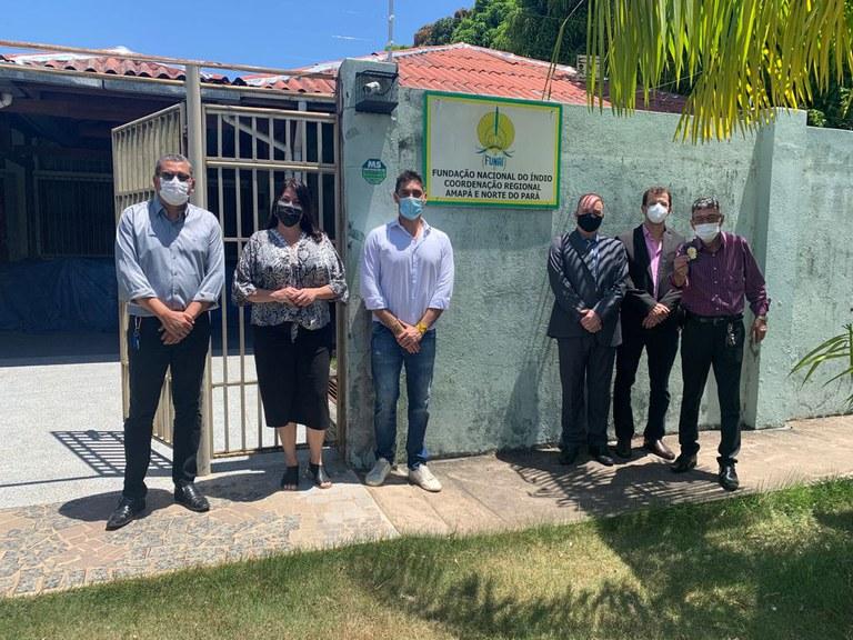 FUNAI: Comitiva da Funai realiza visita técnica a unidade descentralizada no estado do Amapá
