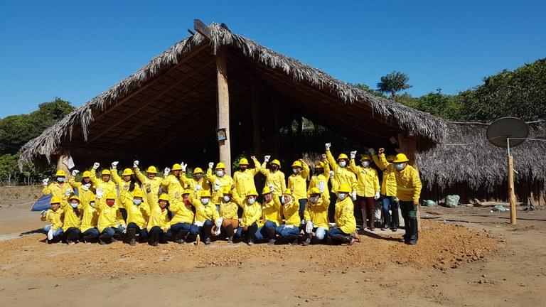 FUNAI: Em iniciativa pioneira no Brasil, primeira brigada indígena feminina é formada no Tocantins