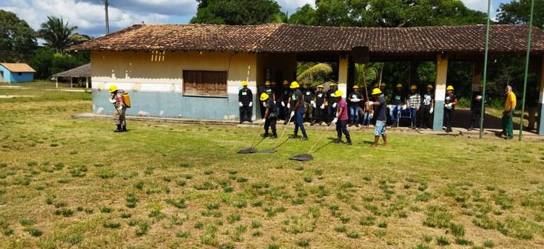 FUNAI: Funai e Ibama realizam curso de combate a incêndios em Terra Indígena do Pará