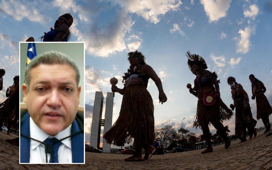 RBA: Nunes Marques vota contra direitos indígenas. Julgamento é suspenso outra vez