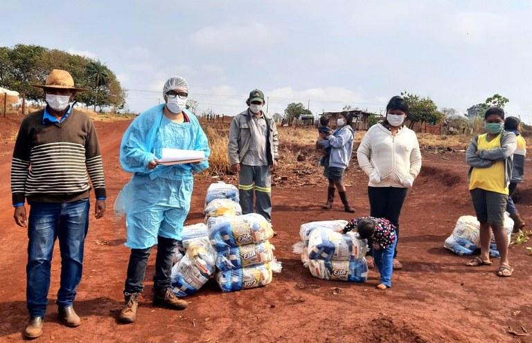 FUNAI: Funai distribui 15,4 mil cestas de alimentos para comunidades indígenas na região de Dourados (MS)