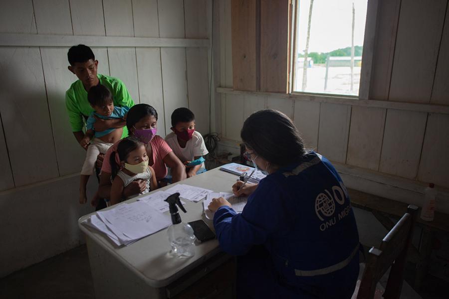 ONU BRASIL: Comunidade indígena na fronteira com a Venezuela recebe atendimentos de saúde pela OIM