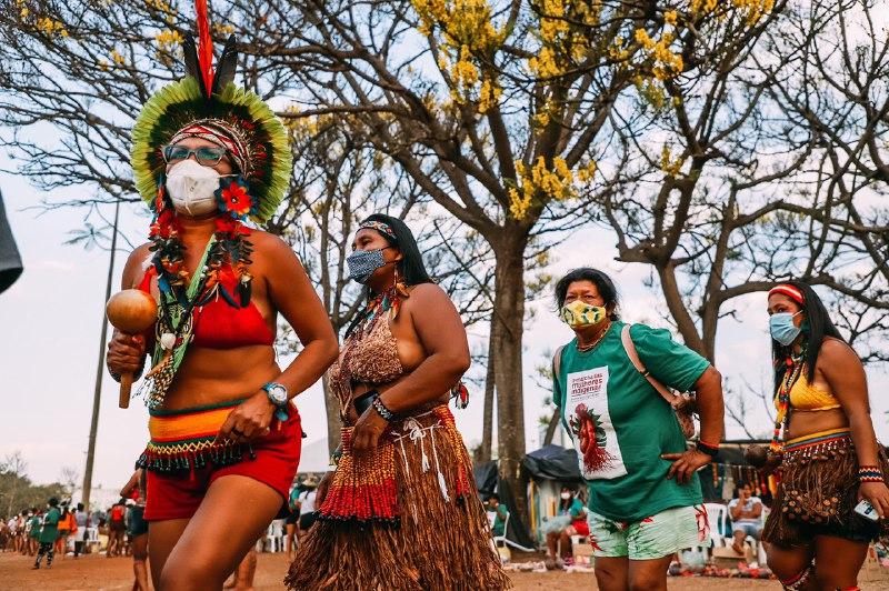 CIMI: Em mobilização permanente, mulheres indígenas realizam marcha amanhã (10)
