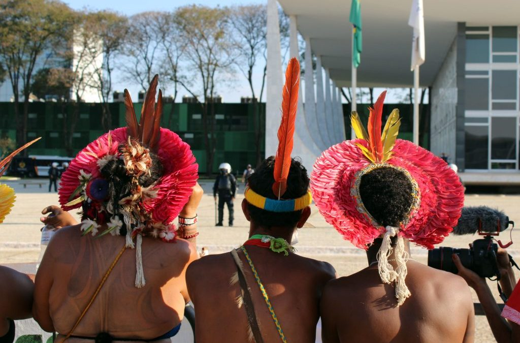 AMAZÔNIA NOTÍCIA E INFORMAÇÃO: SUPREMO TRIBUNAL FEDERAL IRÁ INICIAR HOJE VOTAÇÃO SOBRE TERRAS INDÍGENAS