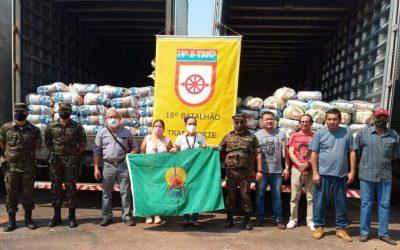 FUNAI: Unidade da Funai em Campo Grande distribui 5,9 mil cestas básicas a aldeias do MS